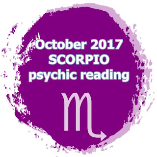 October 2017 SCORPIO psychic reading forecast
