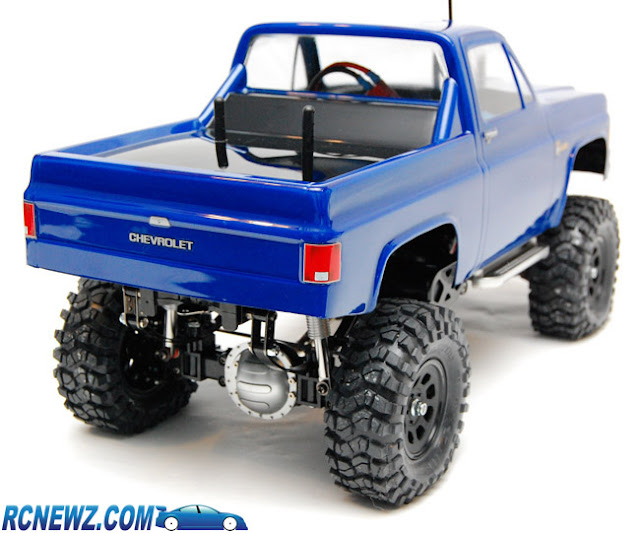 Tamiya High Lift pickup body