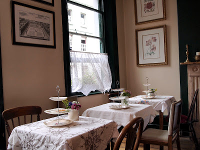 Soho's Secret Tearoom London tables