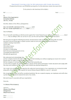Covering Letter for Bid submission with Tender documents (Sample)