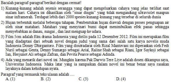 Kisi Kisi Soal Dan Kunci Jawaban Bahasa Indonesia Smp Kelas 8 Semester Genap Kurikulum 2013 Didno76 Com