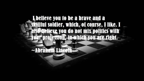 Abraham Lincoln Quotes About Strategy