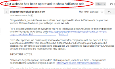 7 Tips Cara Diterima Google Adsense / Upgrade Adsense Non Hosted 2017