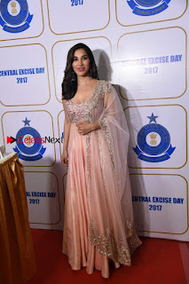 Bollywood Actress Model Sophie Choudry Stills in a Beautiful Dress at The Annual Central Excise Day Celetion  0009.jpg