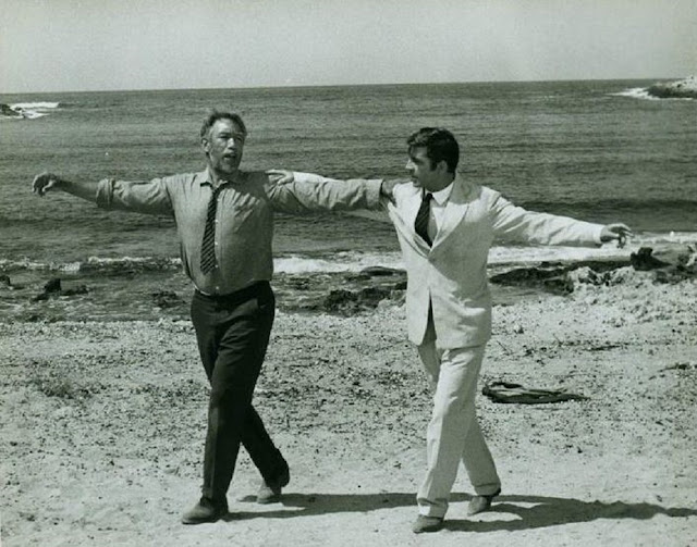 "Anthony Quinn, Alan Bates ""Zorba the Greek"""