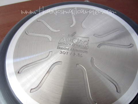 All-Clad stainless bottom