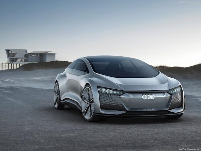 2017 Audi Aicon Concept - #Audi #Concept