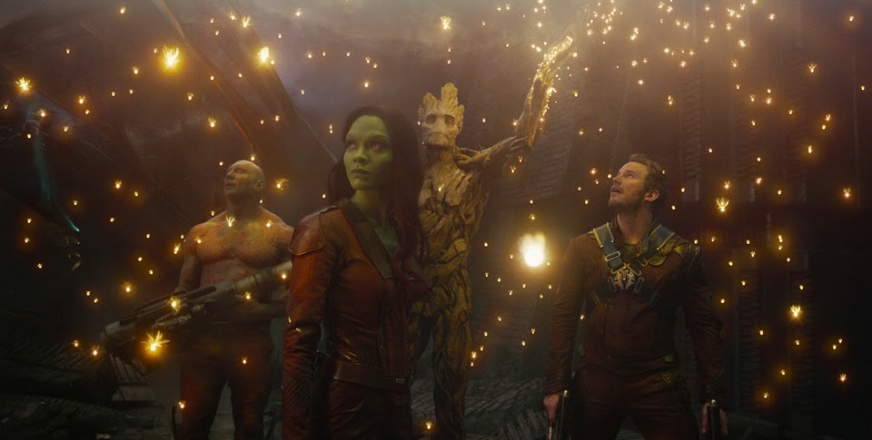 Guardians of the Galaxy cast summer blockbuster