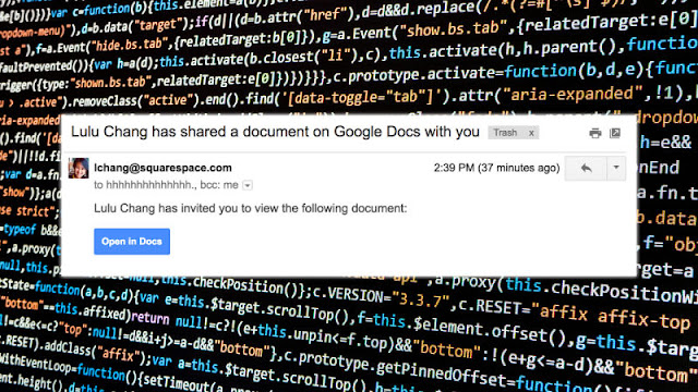 Spammers target Google users with a new Google Docs phishing attack