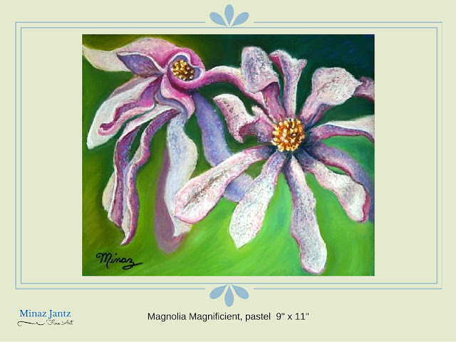 Magnolia Magnificent by Minaz Jant
