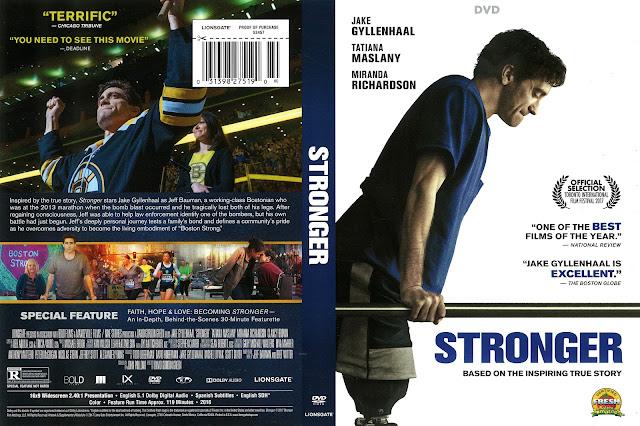 Stronger DVD Cover