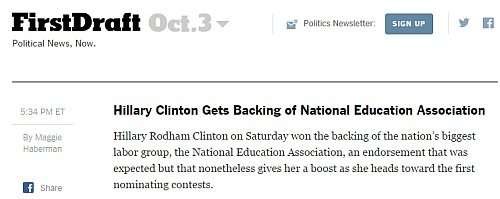 http://www.nytimes.com/politics/first-draft/2015/10/03/hillary-clinton-gets-backing-of-national-education-association/