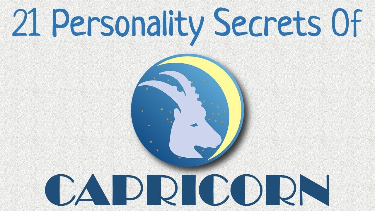 21 Personality Secrets of Capricorn Zodiac Sign
