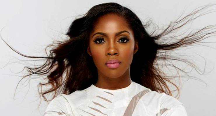 Tiwa Savage all over the place
