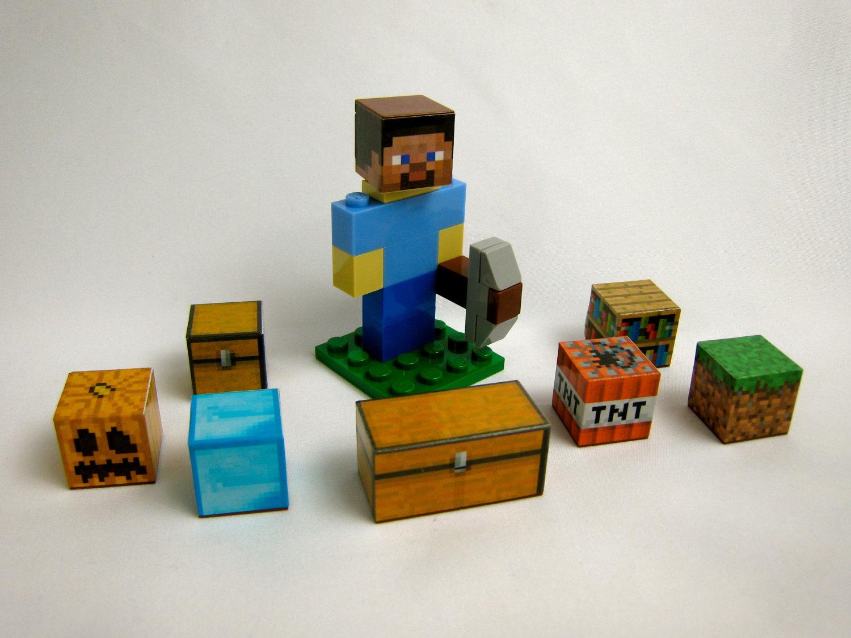 Minecraft Lego Steve M...