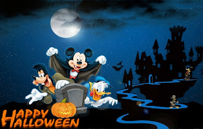 mickey mouse halloween pictures and wallpapers