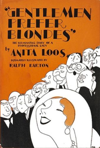 Image result for Gentlemen Prefer Blondes Anita Loos