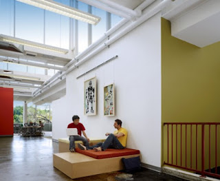 Green Pear Diaries, interiorismo, oficinas, oficinas de Facebook en Palo Alto, California