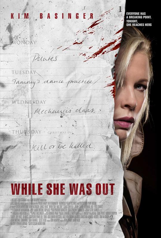 While She Was Out (2008) 480p 250MB Blu-Ray Hindi Dubbed Dual Audio [Hindi – English] MKV Download