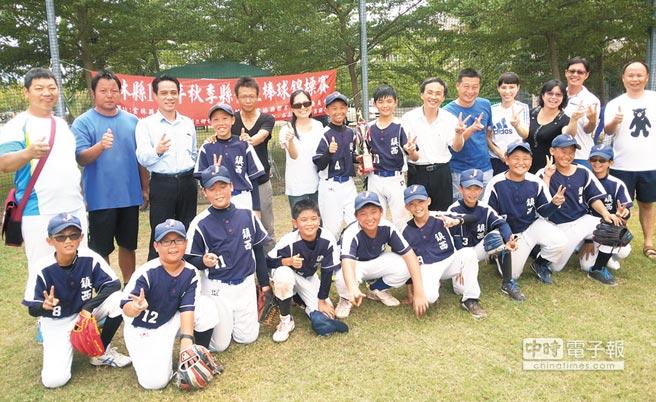 新聞-鎮西棒球小將在強敵環伺下,力克眾多勁旅,摘下軟式少棒組雲林縣冠軍!