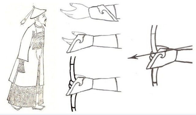 Lý giải về hành động phủi phủi tay áo của quan lại Thanh triều khi hành lễ với Hoàng thượng