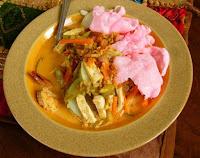 Masakan Betawi Resep Ketupat Sayur Gurih