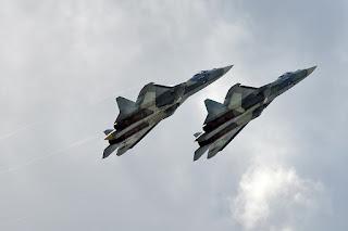 Jet Siluman Sukhoi Su-57