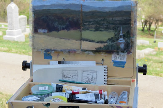 Plein Air Season Opens with a Beautiful Day