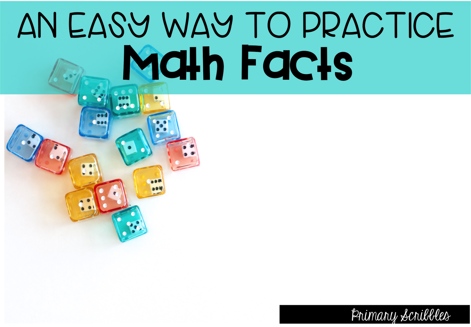 Math Facts Made Easy - Primary Scribbles