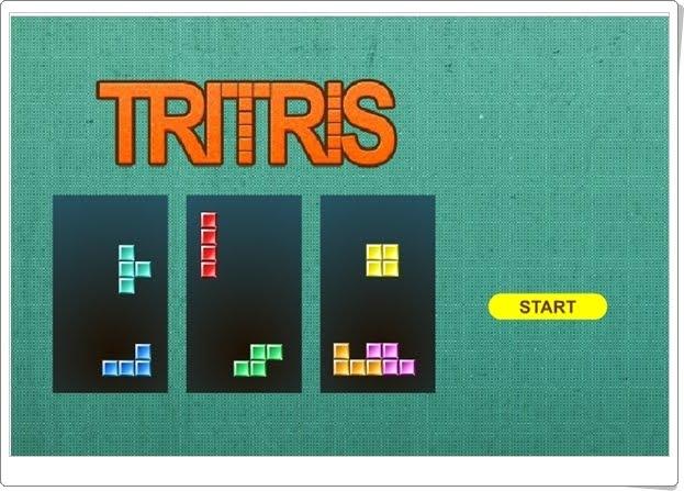 """""""Tritris"""" (Juego clásico online)"""
