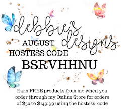 Monthly Hostess Code: August