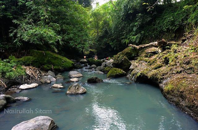 Aliran Kali Boyong area Green Kayen