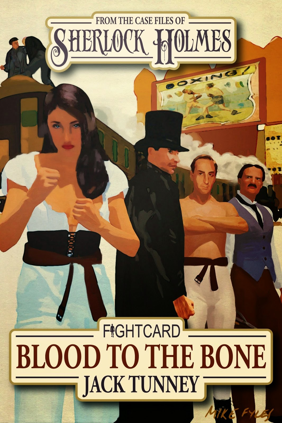 Andrew Salmon's second Fight Card book about Sherlock Holmes