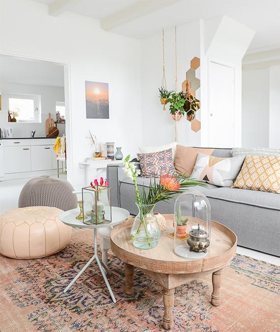 sofá grande, decor, home decor, a casa eh sua, acasaehsua, manta no sofá, decoração, interior design, interior, puff, sala
