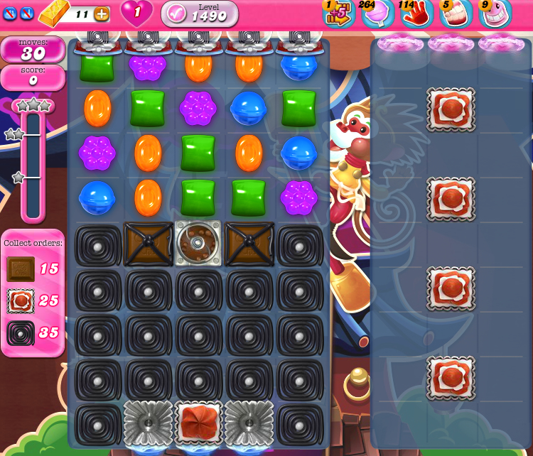 Candy Crush Saga 1490