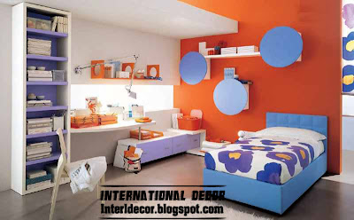 Kids - Modern Paints Ideas For Kids Room' beds ought to have colorful