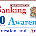 Banking Awareness Questions and Answers Download PDF