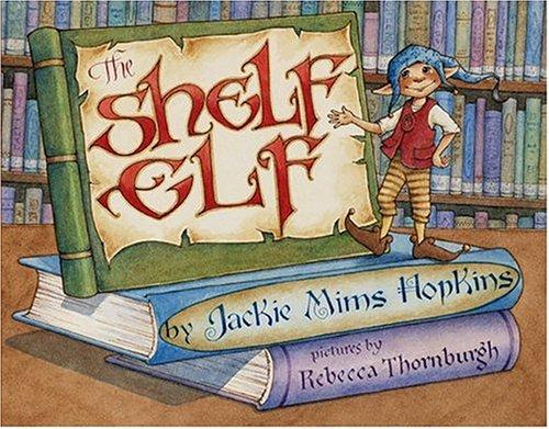 The Shelf Elf Book Review with activities: A lovely book that teaches library manners.
