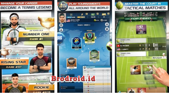 Download Top Seed Tennis Manager Mod Apk Money v2.15.7 Terbaru
