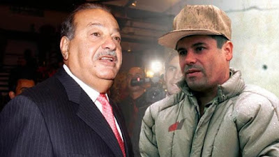 ¿Cómo sería una guerra de carteras entre el Chapo Guzmán y Carlos Slim?