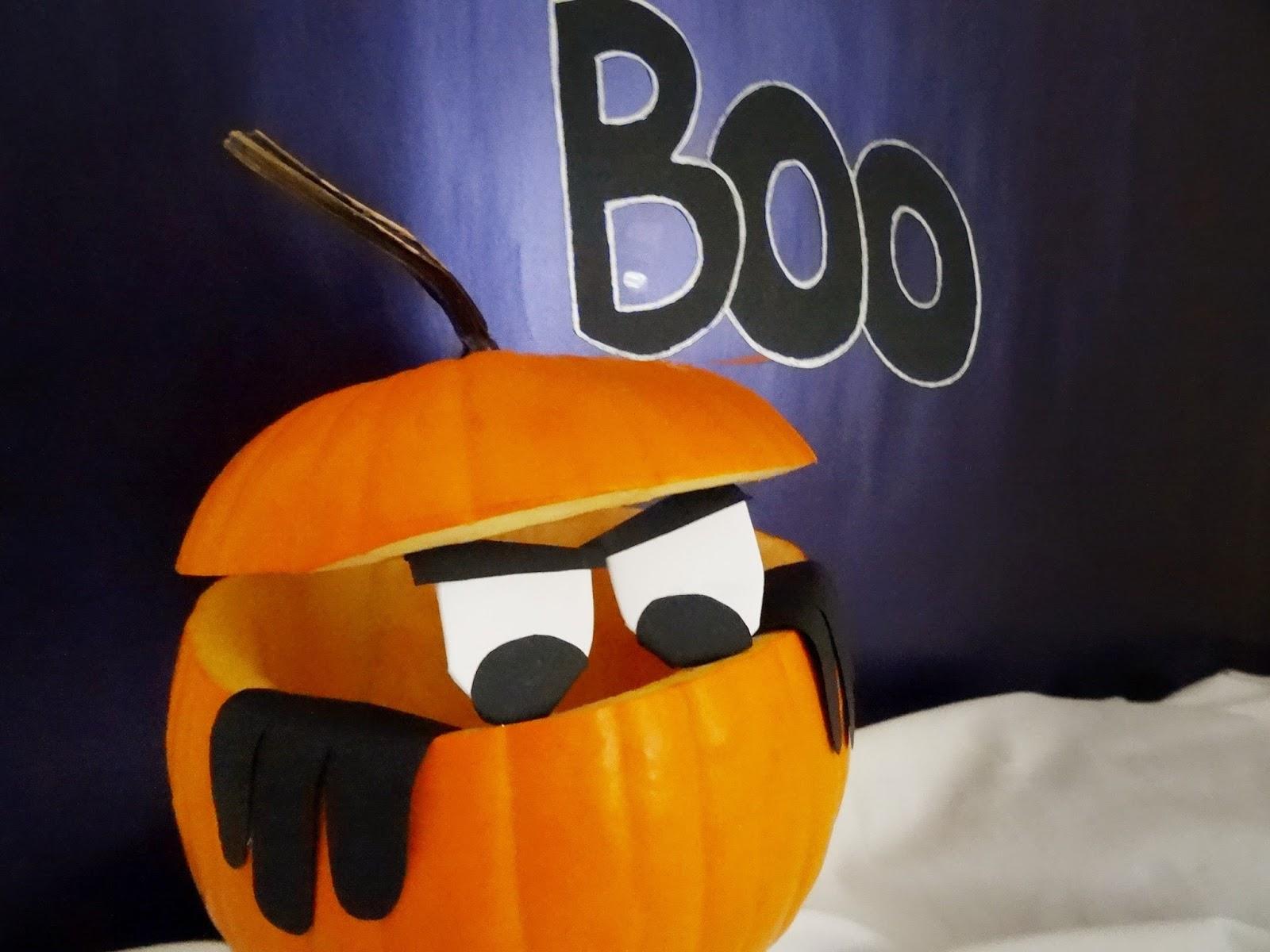 Mi Papel Preferido: Mi primera calabaza de Halloween