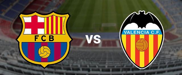 برشلونة ضد فالنسيا الجولة 29 من الدوري الإسباني