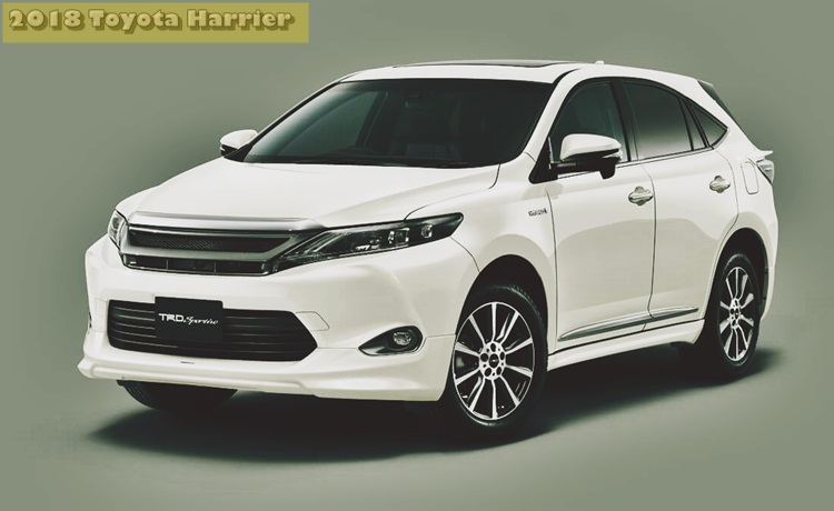 Toyota Harrier 2018 Specs And Price