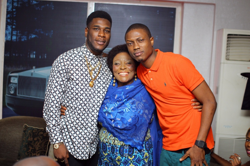 EXCLUSIVE PHOTOS: @HENNESSYNIGERIA HOSTS @burnaboy AT