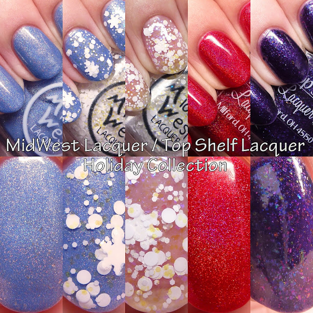 MidWest Lacquer Top Shelf Lacquer Holiday Collection