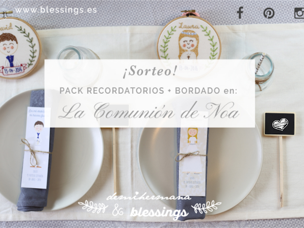 Sorteo Blessings & Demihermana