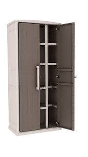 1 Hour Deals, Keter Optima Wonder 4-Shelf Plastic Multi-Purpose Tall Cabinet £89.99