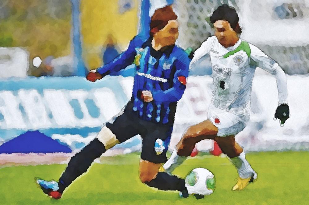 水彩画の倉田秋(サッカー日本代表)