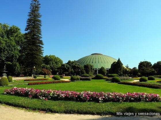 Jardines del Palacio de Cristal, Oporto, Portugal