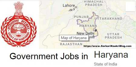 Government Jobs in Haryana
